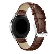 LN Gear S3/Watch 46mm ranneke nahka croco brown
