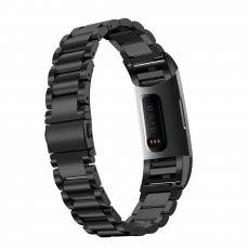 LN ranneke Fitbit Charge 3/4 teräs black