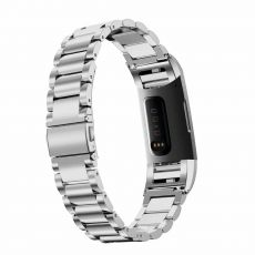 LN ranneke Fitbit Charge 3/4 teräs silver