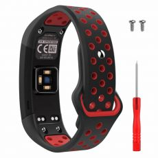 Luurinetti ranneke Vivosmart HR black/red