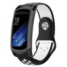 LN Gear Fit2 /Gear Fit 2 Pro ranneke black/white