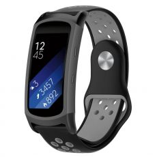 LN Gear Fit2 /Gear Fit 2 Pro ranneke black/grey