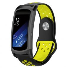 LN Gear Fit2 /Gear Fit 2 Pro ranneke black/yellow