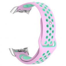 LN Gear Fit2 /Gear Fit 2 Pro ranneke pink/cyan