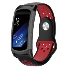 LN Gear Fit2 /Gear Fit 2 Pro ranneke black/red