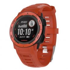 Luurinetti silikoniranneke Garmin Instinct red