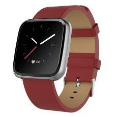 LN ranneke nahka Fitbit Blaze red