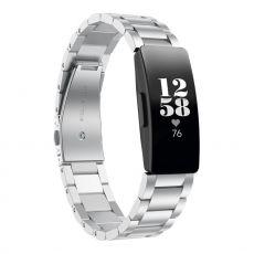 LN ranneke teräs Fitbit Inspire silver