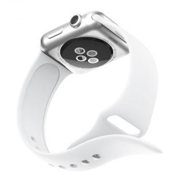 LN Watch 42/44 mm ranneke silikoni white