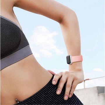 LN Watch 42/44 mm ranneke silikoni pink