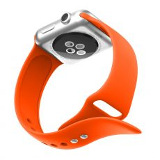 LN Watch 38/40 mm ranneke silikoni orange