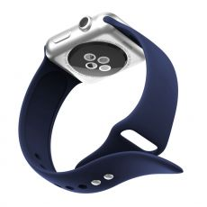 LN Watch 38/40 mm ranneke silikoni blue