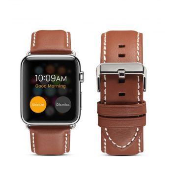 LN Watch 42/44 mm ranneke nahka brown