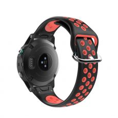 LN ranneke Fenix 5/5 Plus /935/945 black/red