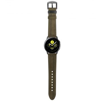 LN Sport/Watch 42 mm/ Active ranneke nahka green