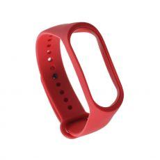 Xiaomi vaihtoranneke silikoni Mi Band 3/4 red