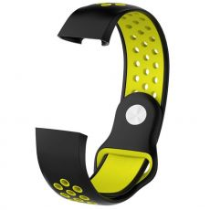LN ranneke Fitbit Charge 3 silikoni S black/yellow