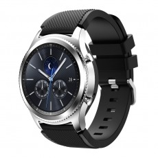 LN Gear S3/Watch 46mm ranneke silikoni black