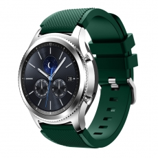 LN Gear S3/Watch 46mm ranneke silikoni green