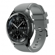 LN Gear S3/Watch 46mm ranneke silikoni grey