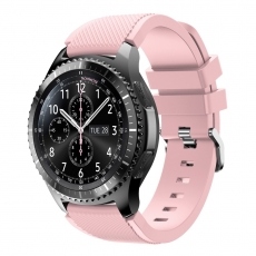LN Gear S3/Watch 46mm ranneke silikoni pink