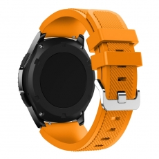 LN Gear S3/Watch 46mm ranneke silikoni orange