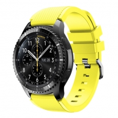 LN Gear S3/Watch 46mm ranneke silikoni yellow
