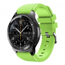 LN Gear S3/Watch 46mm ranneke silikoni lime