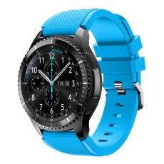 LN Gear S3/Watch 46mm ranneke silikoni blue
