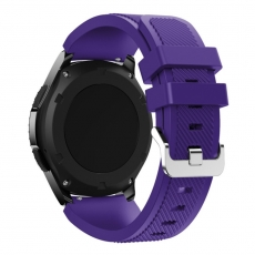 LN Gear S3/Watch 46mm ranneke silikoni purple
