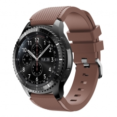 LN Gear S3/Watch 46mm ranneke silikoni brown