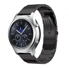 LN Gear S3/Watch 46mm ranneke metalli black