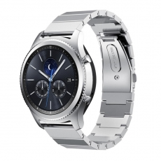 LN Gear S3/Watch 46mm ranneke metalli silver