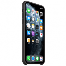 Apple iPhone 11 Pro Max Silicone Case black