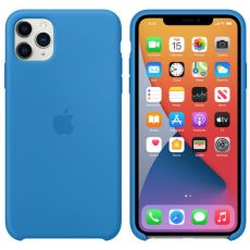Apple iPhone 11 Pro Max Silicone Case surf blue