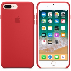 Apple iPhone 7/8 Plus Silicone Case Red