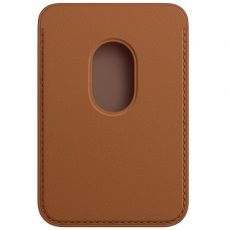 Apple iPhone Leather Wallet MagSafe saddle brown