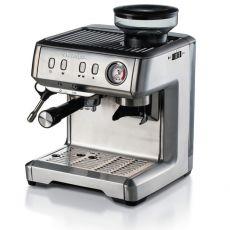 Ariete espressokahvinkeitin kahvimyllyllä ruostumaton teräs
