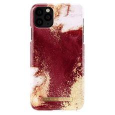 Ideal Fashion Case iPhone 11 Pro Max golden burgundy marble *poisto, avattu palautus*