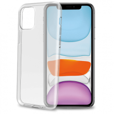 Celly läpinäkyvä TPU iPhone 11 Max