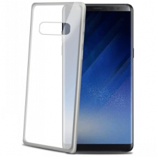 Celly Samsung Galaxy Note 8 Laser Cover silver
