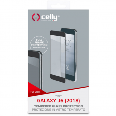 Celly 2.5D panssarilasi Galaxy J6 2018