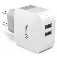 Celly verkkolaturi 2XUSB 3.4A