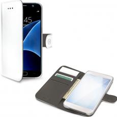 Celly Galaxy S8+ Wally-suojalaukku white