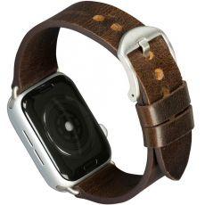 dbramante1928 Watch 42/44 mm nahkaranneke dark brown/silver