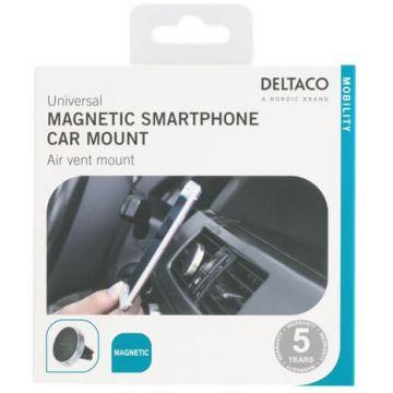 Deltaco magneettiteline autoon silver
