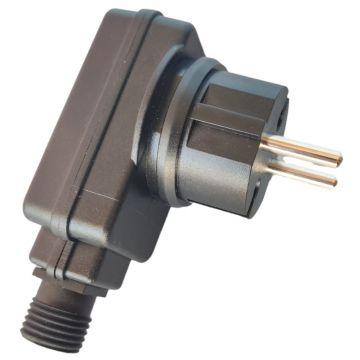 Enjoy verkkolaturi ja microUSB-kaapeli ulkokäyttöön (5V/2A, IP44)
