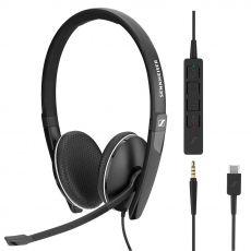 EPOS | Sennheiser SC 165 3.5mm langalliset + USB-C-ohjain MS
