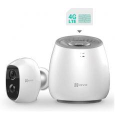 Ezviz C3A akullinen kamera + LTE/4G-tukiasema