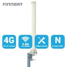 Finnsat paaluantenni 3G/4G-verkkoihin 9 dBi 360° FS3000